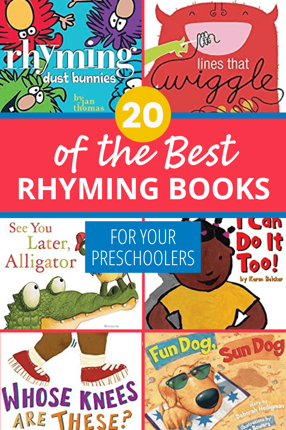 20 of the Best Rhyming Books for Kids