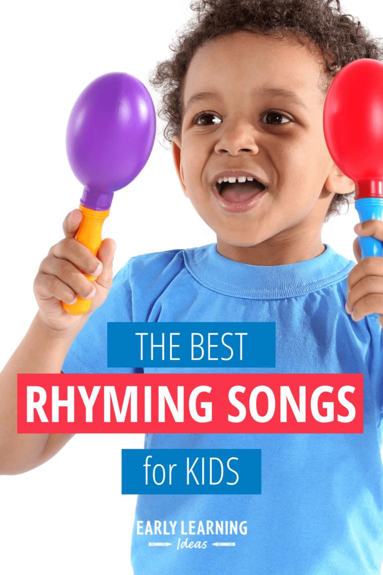 15 of the Best Preschool Rhyming Songs