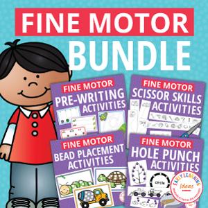 fine motor activity bundle