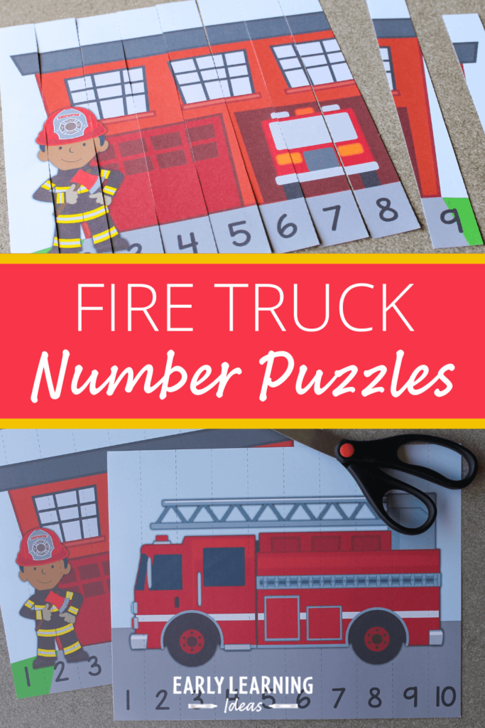 firetruck number puzzles
