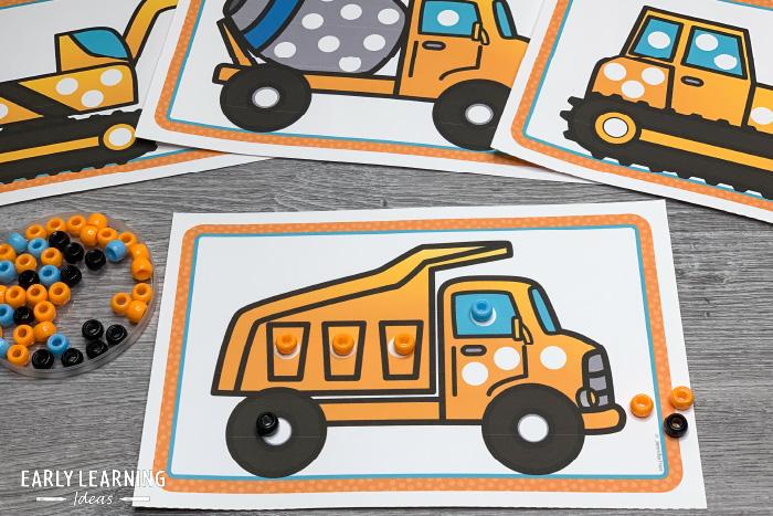 construction fine motor activity for preschoolers