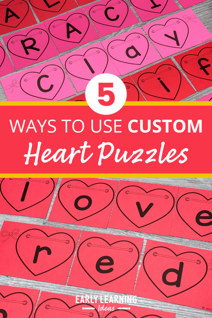 heart name puzzles