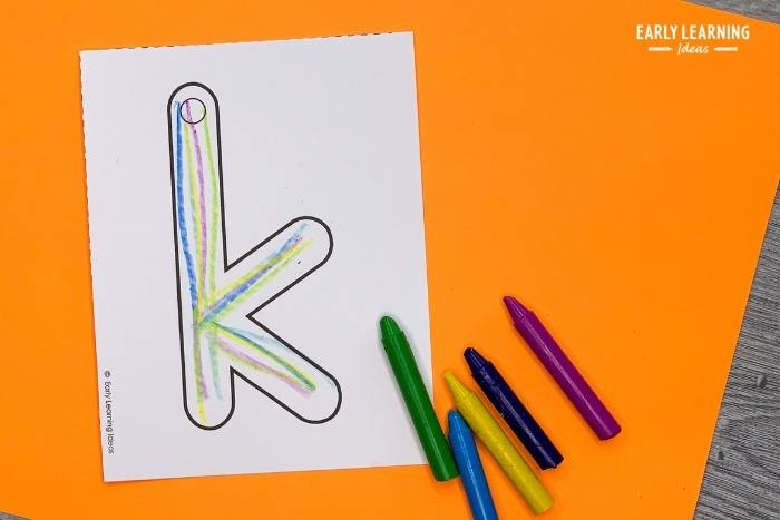 rainbow write to practice letter formation