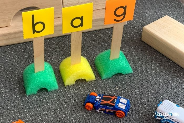 create words with free printable letter signs