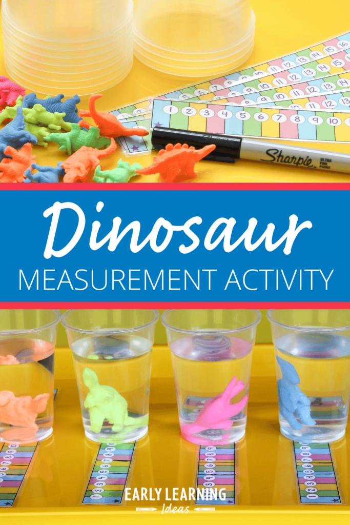 dinosaur measurement activities