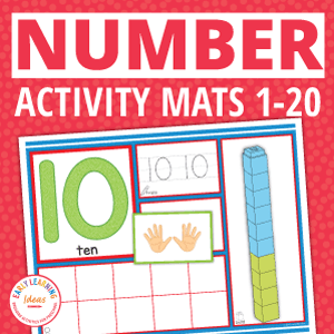 number activity mats for numeracy practice