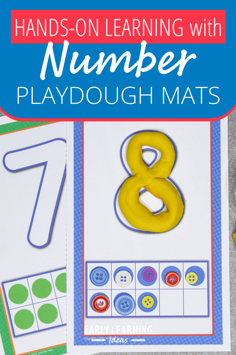 Number Playdough Mats That will Make Your Kids Excited to Learn