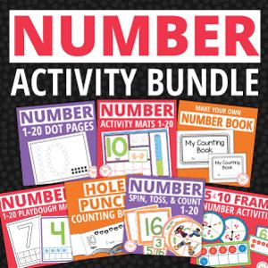 number activities for preschool and prek