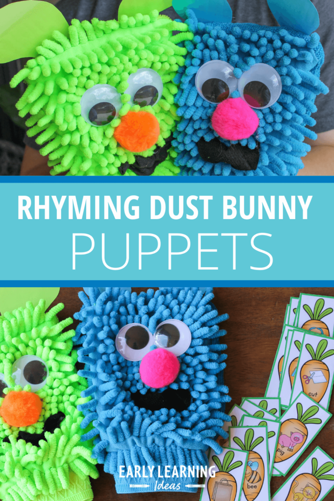 rhyming dust bunny activity
