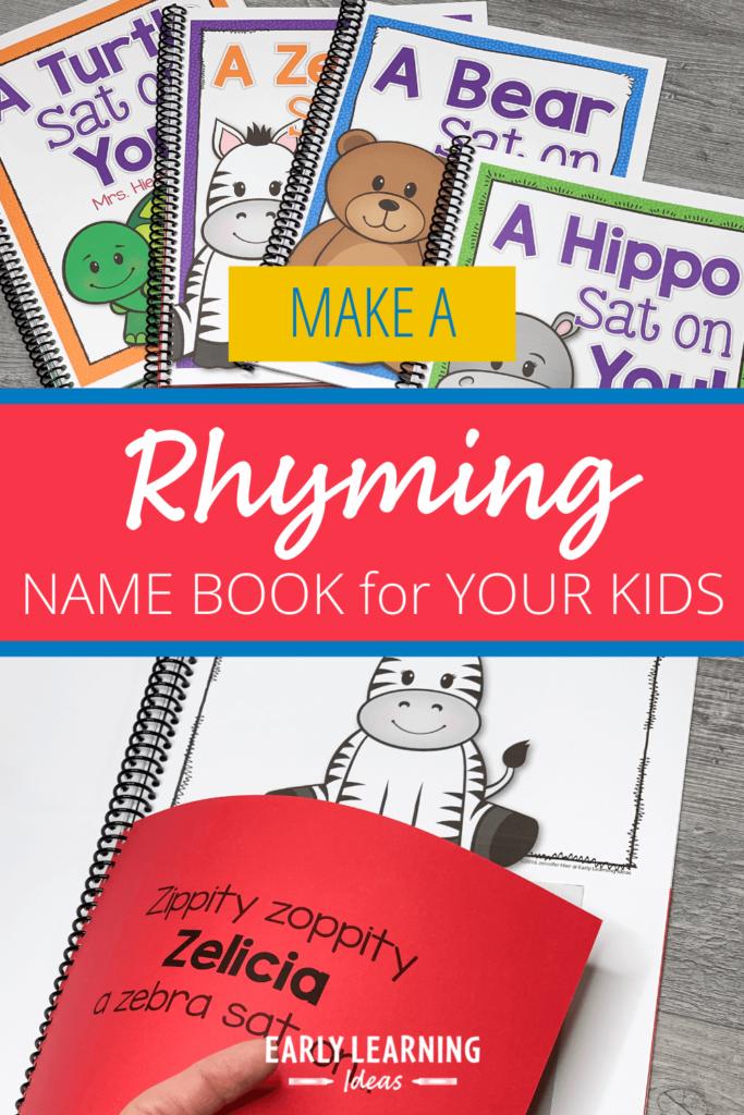 rhyming name books for preschoolers
