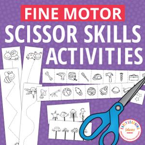 scissor skills activities for preschoolers