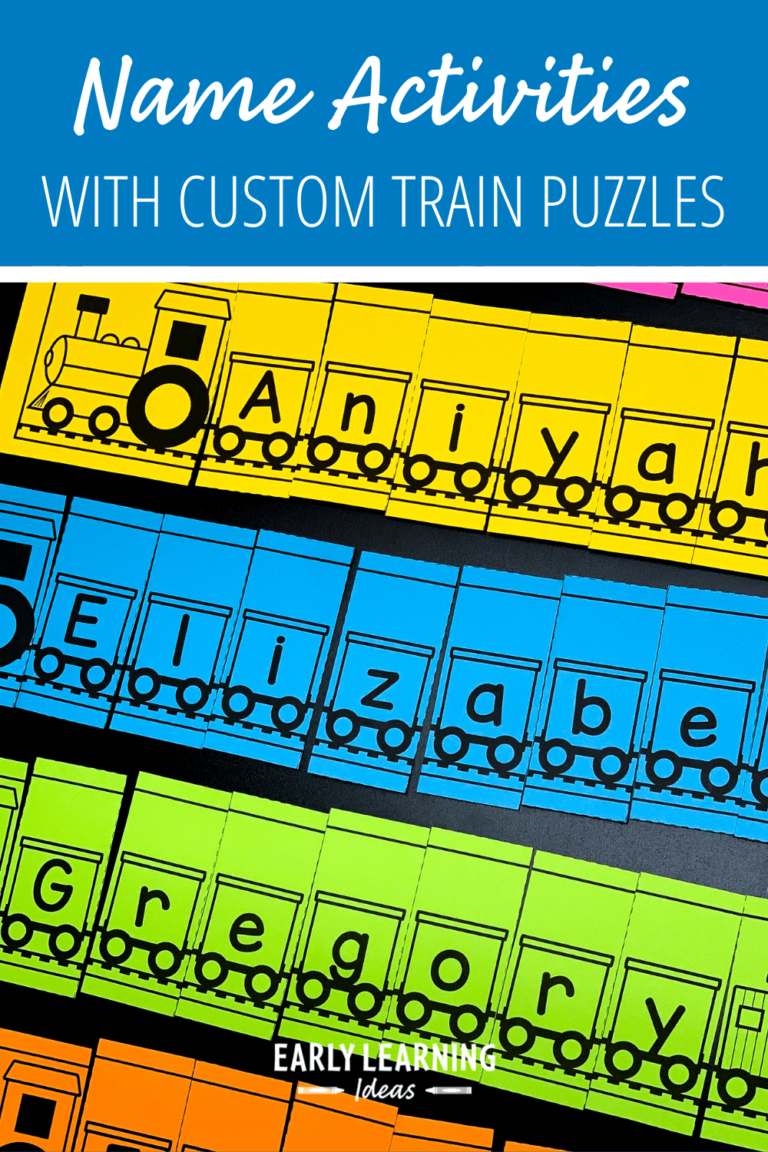 How to Easily Customize Train Name Puzzles