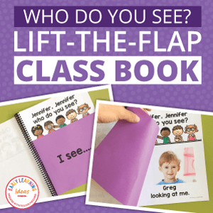 who do you see lift the flap book