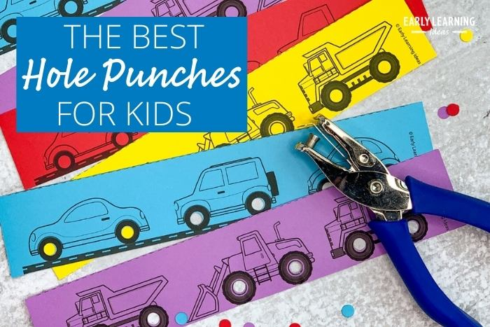 The best kids hole punch for fine motor activities