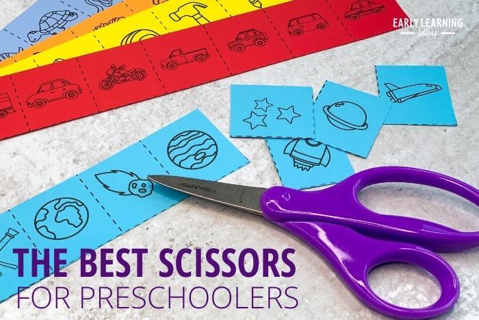 The best scissors for preschoolers