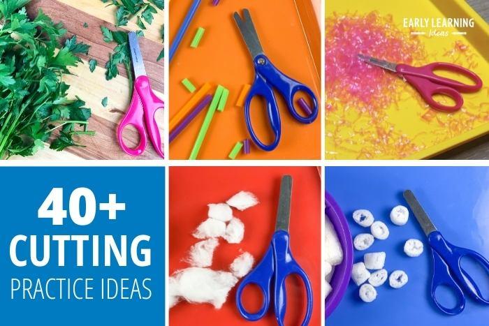 cutting practice ideas for preschoolers