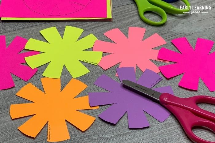 cutting practice craft activity for preschoolers