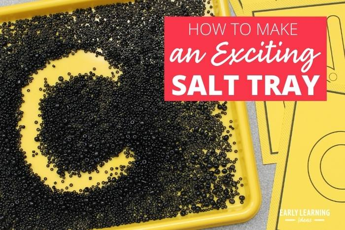 how to make an exciting salt tray