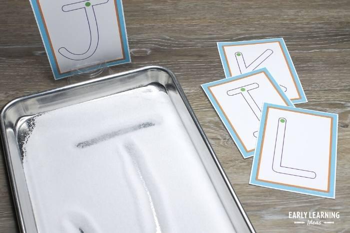 salt tray for preschoolers