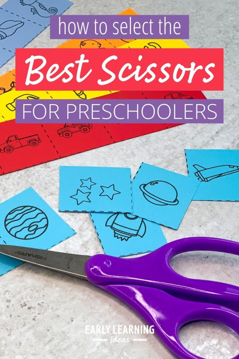 How to select The best scissors for preschoolers