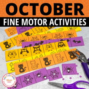october fine motor activities